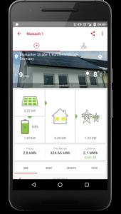 Solaredge APP di monitoraggio